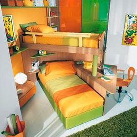 Muebles sobre dise o habitat design quer taro for Recamaras infantiles queretaro