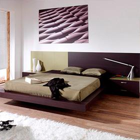 Muebles sobre dise o habitat design quer taro for Recamaras modernas minimalistas